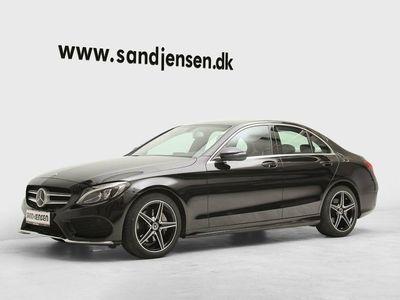 begagnad Mercedes C220 d 2,2 AMG Line aut.