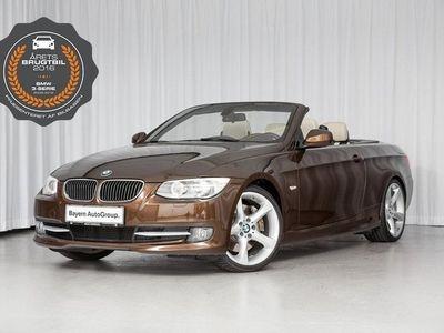 brugt BMW 335 Cabriolet i 3,0 aut.