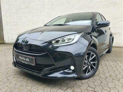 brugt Toyota Yaris 1,5 Hybrid H3 Style 116HK 5d Trinl. Gear