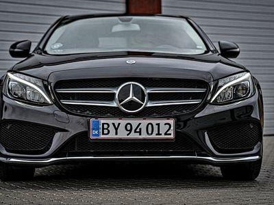 brugt Mercedes C200 AMG Line, 184 hk, Sedan, 9G-TRONIC