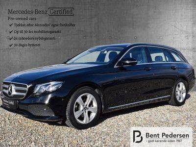 gebraucht Mercedes E220 2,0 D 194HK Stc 6g