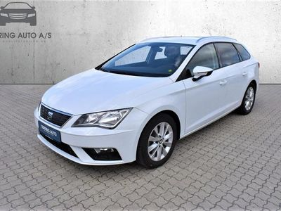 brugt Seat Leon 1,0 TSI Style Start/Stop 115HK Stc 6g - Personbil - Hvid