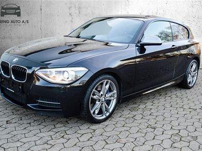 brugt BMW M135 i 3,0 320HK 3d 6g - Personbil - Sortmetal