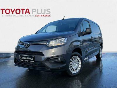 brugt Toyota Proace City Long 1,5 D Comfort Smart Active Vision 102HK Van A+