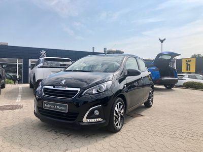 brugt Peugeot 108 1,0 e-Vti Infinity M 72HK 5d
