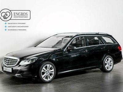 begagnad Mercedes E200 2 CDi stc. aut. BE