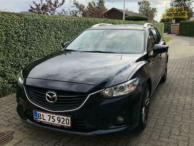 brugt Mazda 6 Vision, 2.0 Skyactiv 165hk