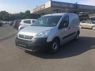brugt Peugeot Partner L1 1,6 BlueHDi 75HK Van