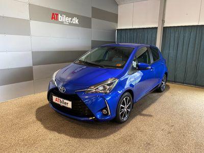 brugt Toyota Yaris 1,5 Hybrid H3 Smartpakke E-CVT 100HK 5d Trinl. Gear A+++