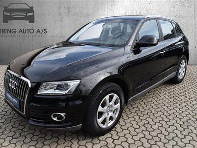 brugt Audi Q5 2,0 TDI S Tronic 190HK 5d Aut. - Personbil - mørkgråmetal