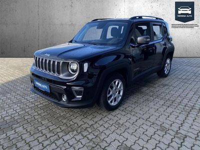 brugt Jeep Renegade 1,3 Turbo Limited DCT 150HK 5d 6g Aut. - Personbil - Sort