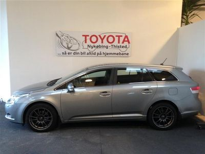 brugt Toyota Avensis 2,0 D-4D DPF T2 126HK Stc 6g
