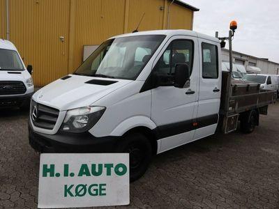 brugt Mercedes Sprinter 316 2,2 CDi R3 Mandskabsvogn m/lad aut
