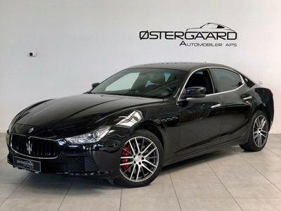 brugt Maserati Ghibli 3,0 D aut.