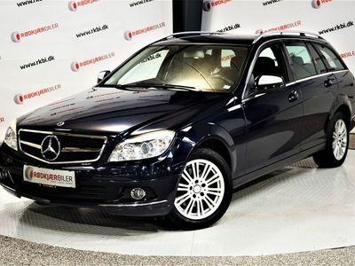 brugt Mercedes C220 2,2 CDi Elegance stc. aut.