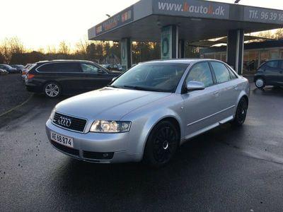 brugt Audi A4 2,4 V6 170