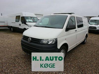 brugt VW Transporter 2,0 TDi 140 Kasse-/Mandskabsvogn