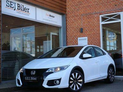 brugt Honda Civic 1,6 i-DTEC Elegance 120HK 5d