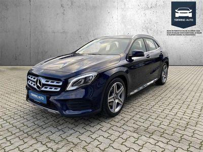 brugt Mercedes GLA250 2,0 4-Matic 7G-DCT 211HK 5d 7g Aut. - Personbil - Mørkblåmetal