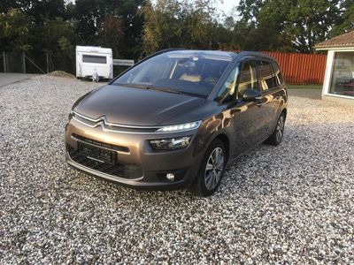 brugt Citroën Grand C4 Picasso 2,0 Blue HDi Exclusive EAT6 150HK 6g Aut.