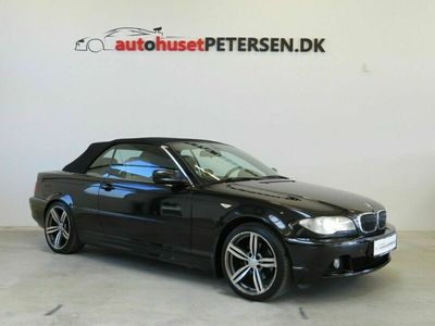 brugt BMW 320 Cabriolet Ci 2,2