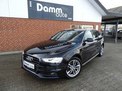 brugt Audi A4 2,0 Avant TDI MULTITRONIC S-Line 150HK st.car aut