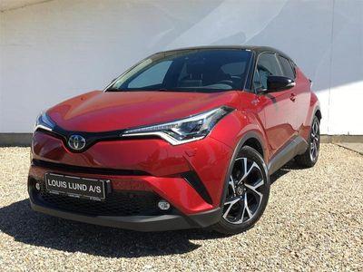 brugt Toyota C-HR 1,8 B/EL C-LUB Selected Premium Bi-tone Multidrive S 122HK 5d Aut. A++