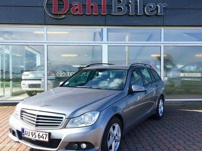 brugt Mercedes C220 2,2 CDI BlueEfficiency 170HK 6g