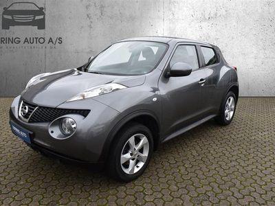 brugt Nissan Juke 1,6 Visia 4x2 94HK 5d - Personbil - gråmetal