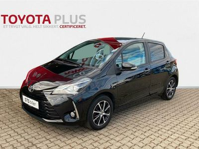 brugt Toyota Yaris 1,5 VVT-I T2 Premium 111HK 5d