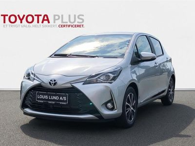 brugt Toyota Yaris 1,5 VVT-I T2 Limited Multidrive S 111HK 5d 6g Aut. A+