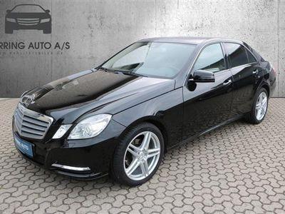 gebraucht Mercedes E200 1 CDI BlueEfficiency 136HK Aut. - Personbil - sort