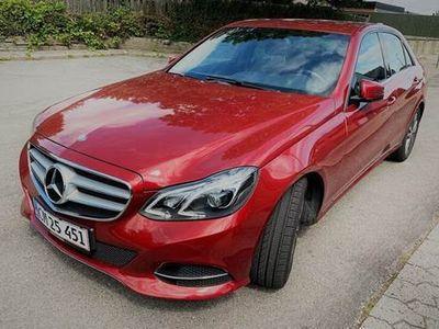 brugt Mercedes E220 2 Edition E Avantgarde 9G-Tronic aut.