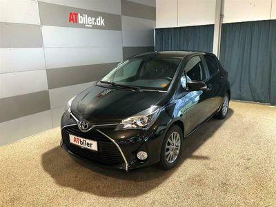 brugt Toyota Yaris 1,3 VVT-I T2 Premium Multidrive S 100HK 5d
