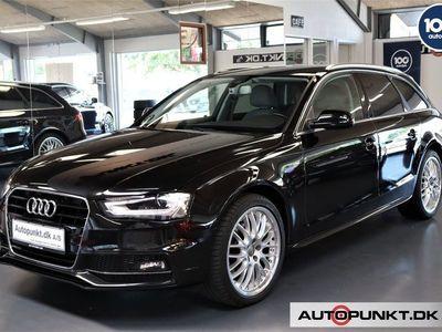 brugt Audi A4 2,0 TDi 190 S-line Avant Multitr.