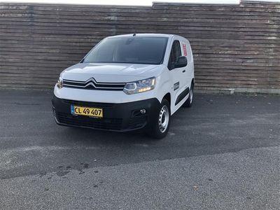 brugt Citroën Berlingo L1 1,5 Blue HDi Proffline start/stop 100HK Van 6g