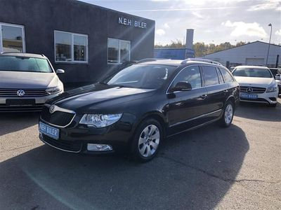brugt Skoda Superb Combi 1,6 TDI Common Rail DPF Greenline Ambition 105HK Stc