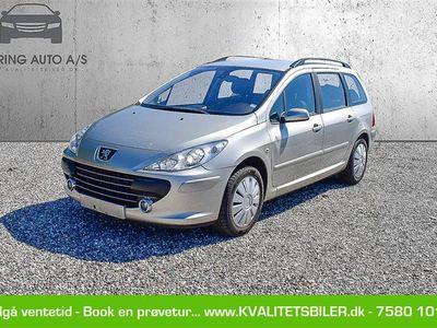 brugt Peugeot 307 1,6 HDI Complete 90HK Stc - Personbil - sølvmetal