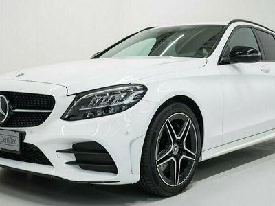brugt Mercedes C300 d AMG Line stc. aut. 2020