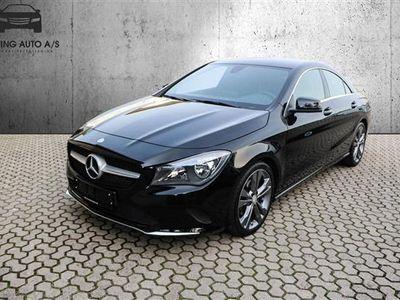 używany Mercedes CLA200 2,1 D 7G-DCT 136HK 4d 7g Aut. - Personbil - Sort