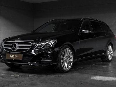 used Mercedes E220 2,1 CDI BlueEfficiency Avantgarde 170HK Stc 7g Aut.