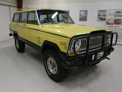 brugt Jeep Wagoneer 401
