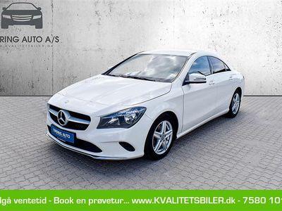brugt Mercedes CLA200 d 2,1 D 7G-DCT 136HK 4d 7g Aut. - Personbil - hvid
