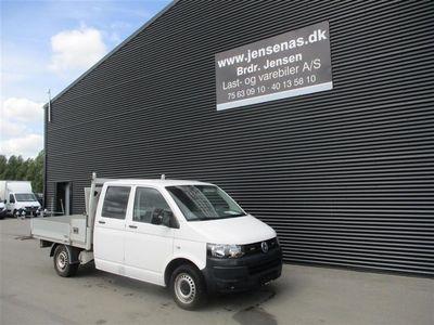 brugt VW Transporter MANDSKABSVOGN 2,0 TDI m/alulad 140HK DobKab 2013