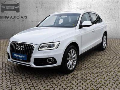 brugt Audi Q5 2,0 TDI S Tronic 190HK 5d Aut. - Personbil - hvidmetal