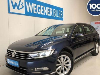 gebraucht VW Passat Variant 2,0 TDI BMT Highline DSG 150HK Stc 6g Aut.