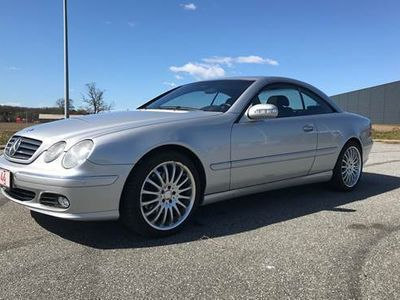 brugt Mercedes CL500 CL500 5,0AMG Coupe Designo Edition