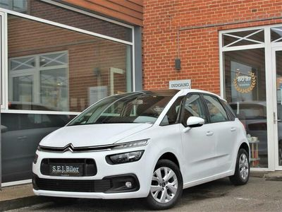 brugt Citroën C4 Picasso 1,6 Blue HDi Extravaganza start/stop 120HK 6g A+
