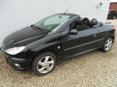 usata Peugeot 206 CC 1,6 110HK Cabr.