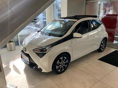 brugt Toyota Aygo 1,0 VVT-I X-Sky X-Shift 72HK 5d Aut.